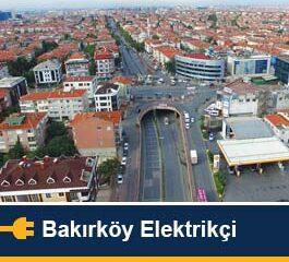 Bakırköy Elektrikçi servisi